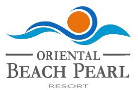 Oriental Beach Pearl Resort logo