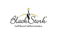 Black Stork Golf resort logo